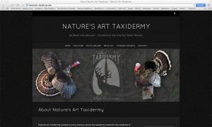 Nature's Art Taxidermy